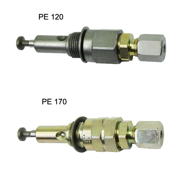 Pump element PE-60, PE-120 and PE-170 without PCV