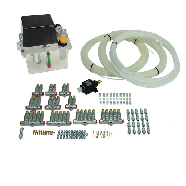 2.7 L pump - oil - single line system for up to 100 lubricating points