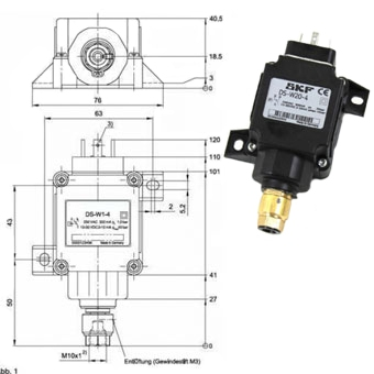 SKF Pressure switch DS-W