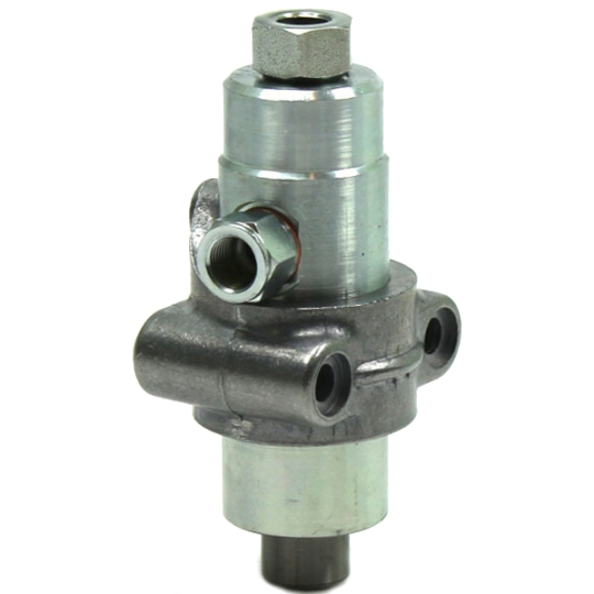 Piston pump - with relief valve