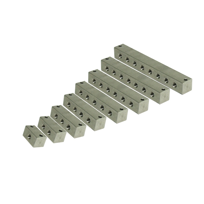 Junction block stainless steel M10x1