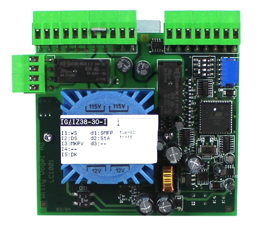 Control unit board series IG for central lubrication pumps