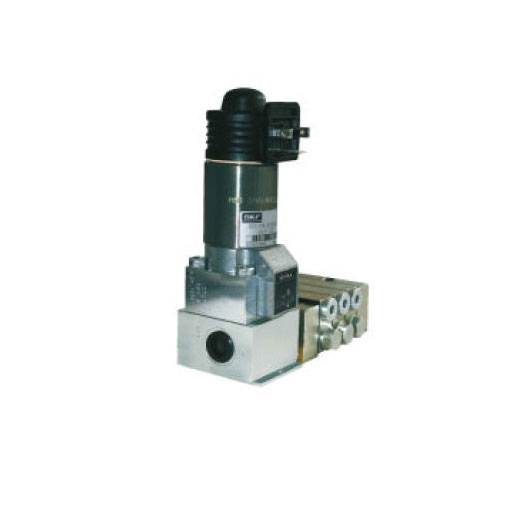 SKF 2/2 way magnetic valve for grease