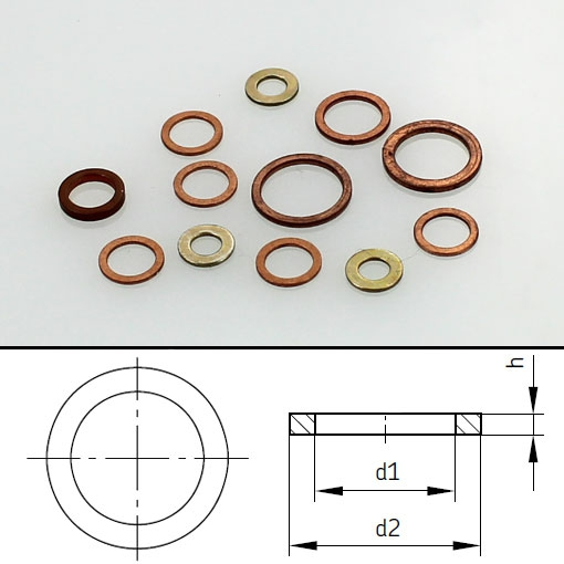 SKF Flat washer