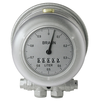 Minimum meter HZ 3RR - oil/diesel - from 0,18 l/h - with impulse generator