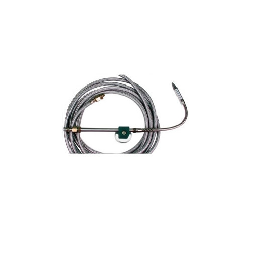 SKF Pipe mounting - coated steel - coaxial - bending radius: 90 mm