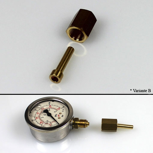 Vogel Connector for pressure gauges