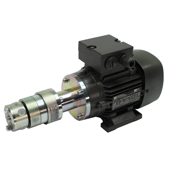 MultiFlex radial piston pump - 230/400 V - with coaxial gear