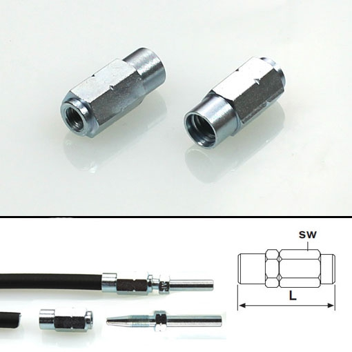 Screw sleeve for hose stud
