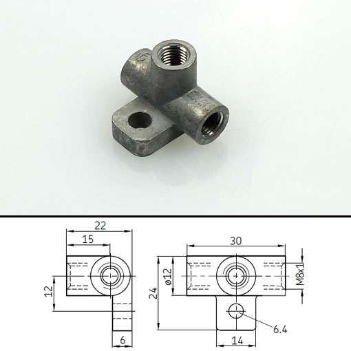Vogel T-connector