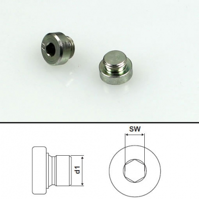 Screw plugs M10x1