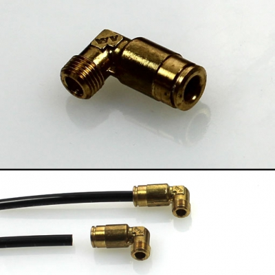 SKF Quick connector - Elbow with tapered thread